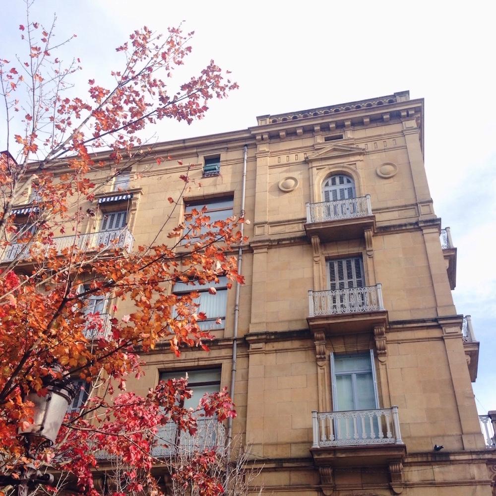 El otoño en San Sebastián