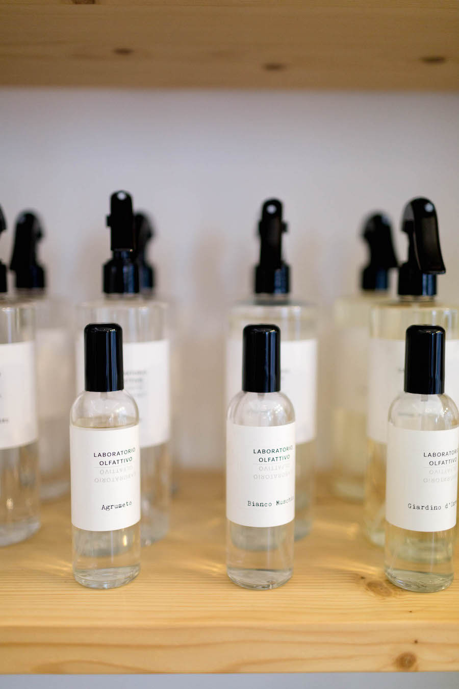 Algunos productos de la perfumería nicho de Hunky Dory Laboratory