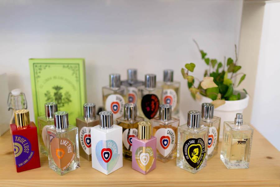Los perfumes no comerciales que tienen en Hunky Dory Laboratory