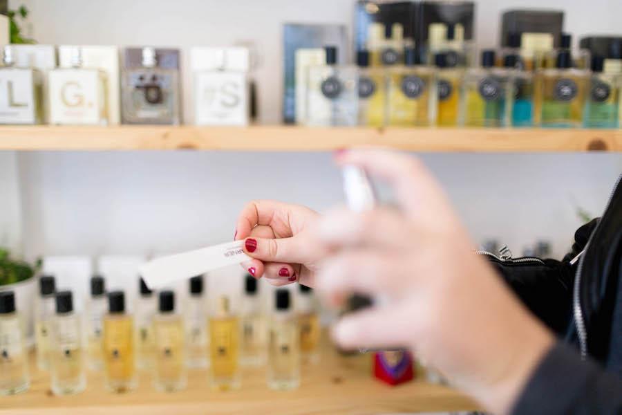 Cata de perfumes en Hunky Dory Laboratory