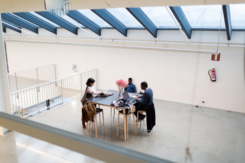 Quinta planta de Tabakalera, Centro Internacional de Cultura Contemporánea