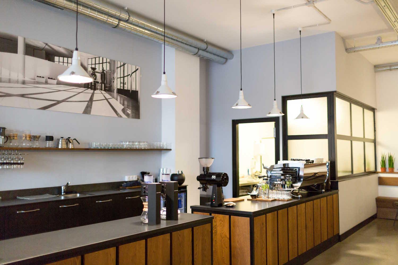 La decoración atemporal de Sakona Coffee Roasters