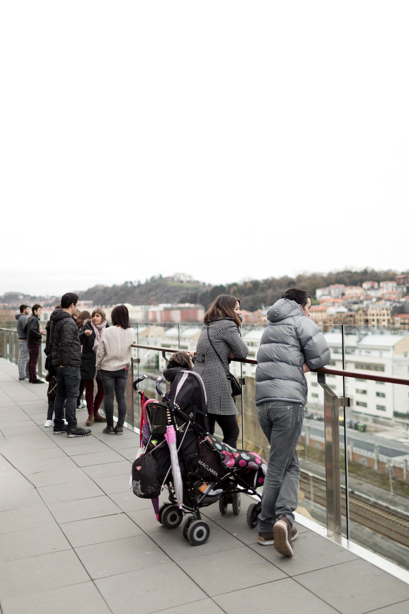 Terraza de Tabakalera, Centro Internacional de Cultura Contemporánea en San Sebastián