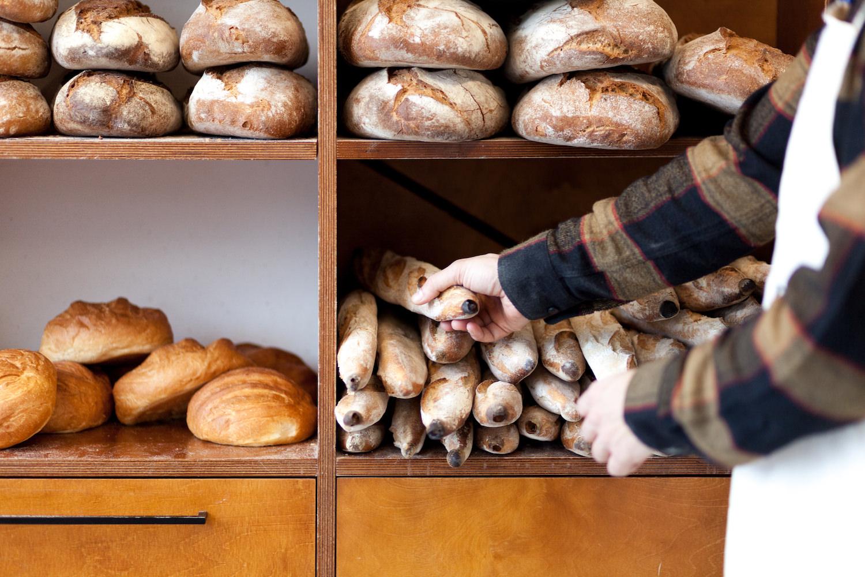 Las barras de pan de The Loaf