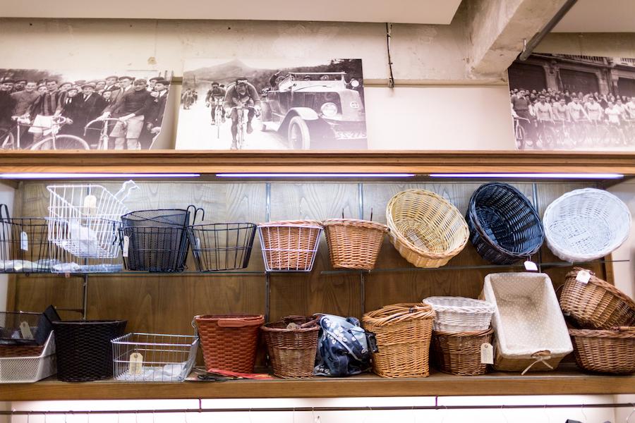 La selección de cestas