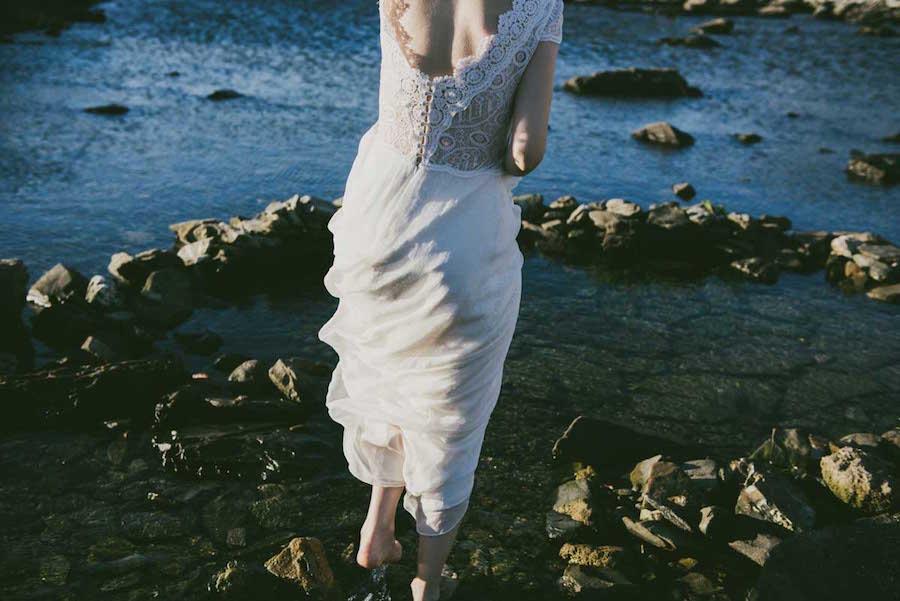 Vestidos de Otaduy para novias con estilo propioa
